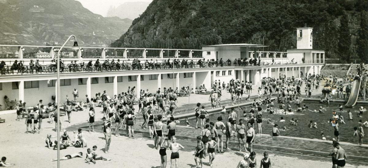 Immagine storica Lido di Bolzano